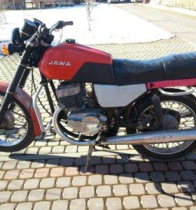 Мотоцикл Ява 638 1990год