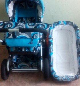 Демисезонная детская коляска-трансформер