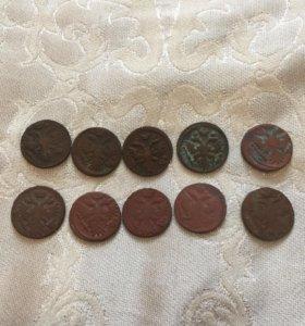 Денга 1730,1731,1736,1737,1738,1739,1741,1745,1747