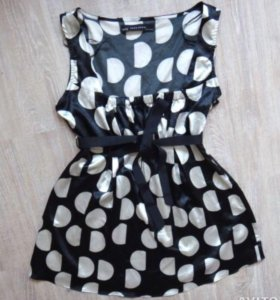 Блуза Блузка топ женская в о/с Zara декольте M
