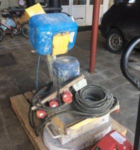 Шлифовальная машина по камню и бетону