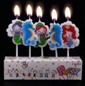 Свечки на торт