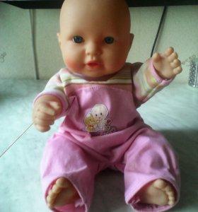 Кукла пупс музыкальный