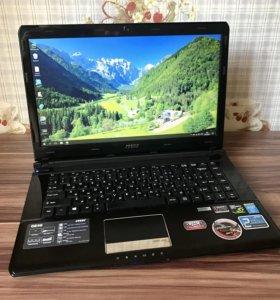 Msi GE40 Core i7, GTX 760m, HDD 1тб+ SSD 128