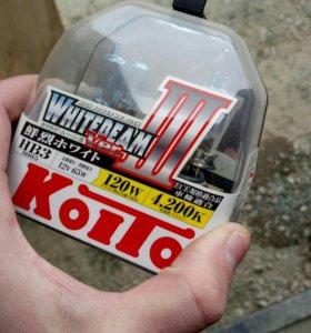 Лампы галогенные Koito HB3 Whitebeam