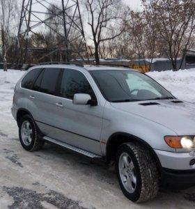 BMW X5 E53 2001 год 4.4 286