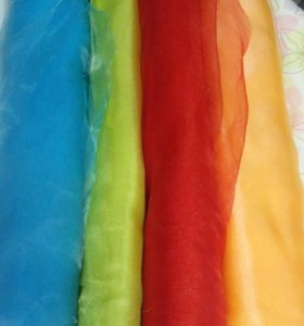 Ткань(Органза) разноцветная
