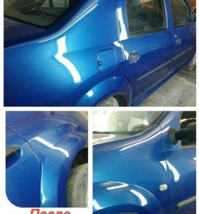 Кузовной ремонт авто. Полировка