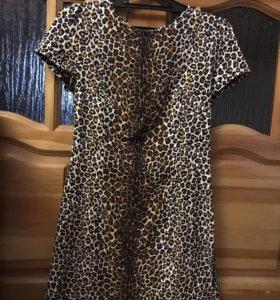 Новое, леопардовое платье Befree