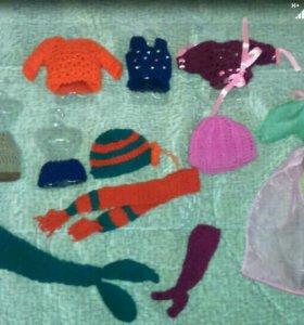 Одежда вязаная для кукол