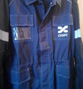 Куртки от рабочего костюма.