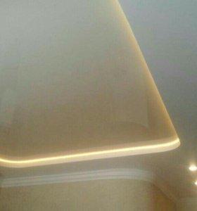 Натяжные потолки пвх и дескор