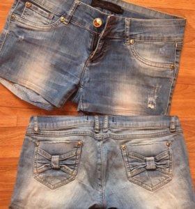 Джинсовые шорты, размер 42-44