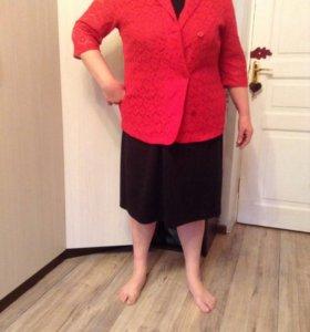 Пиджак и платье 56р