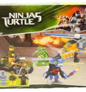 Lego Ninjas turtle 33010 Черепашки Ниндзя