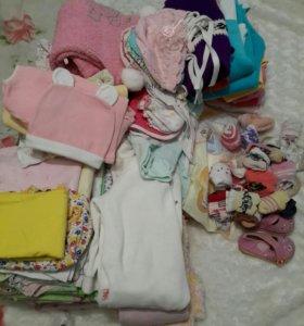 Пакет детской одежды от 0 до 1 года