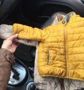 Куртка состояние новой