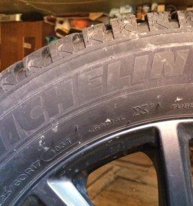 Комплект зимних колес с дисками
