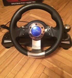 Игровой руль Oklick SportLine W-3