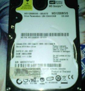Жесткий диск 128 GB