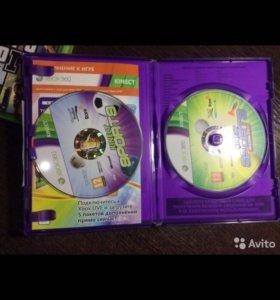 Игра на Xbox 360 Kinect