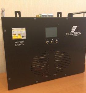Новый стабилизатор напряжения Electron((Россия)