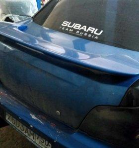 Спойлер Subaru Impreza wrx