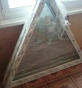 Окно треугольное для дома
