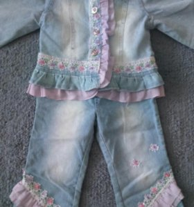 Джинсовый костюм (детский)