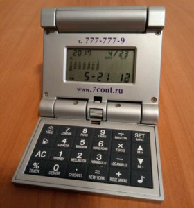 Часы, калькулятор