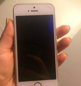 iPhone 5s, Gold. 16gb.
