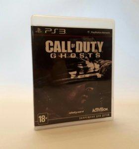 Игры для PS3 COD Ghosts