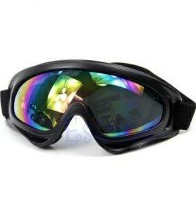 Очки лыжные/мотоциклетные