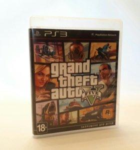 Игры для PS3 GTA 5