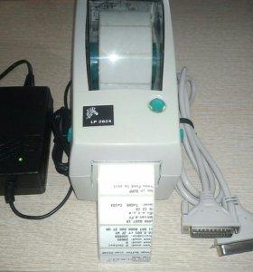 Продам принтер Zebra LP2824