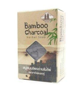Тайское травяное мыло с углем