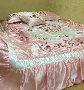 Плед и подушки