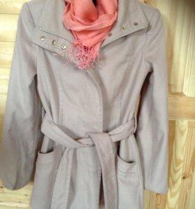 Пальто оджи и шарфик
