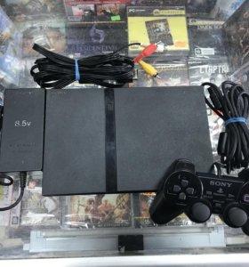 "Sony PlayStation 2 ""Чип"" игровая приставка"