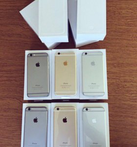 IPhone 6 16/64gb space gray, gold, silver