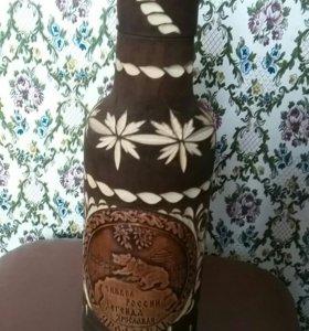 Подарочные деревянные футляры для бутылок