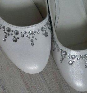 Туфли со стразами calipso.