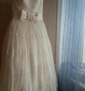 Свадебное платье 40-42 р