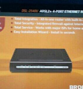 Модем D-Link DSL 2540U