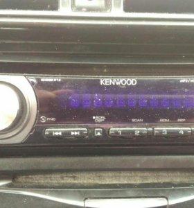 Магнитола Kenwood на Honda Civic Ferio 6