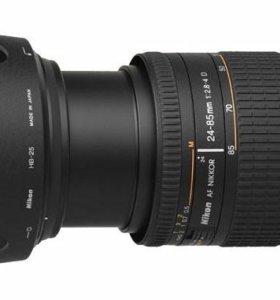 Объектив Nikkor 24-85mm f/2.8-4D AF makro