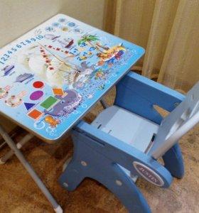 Детский стол с креслом