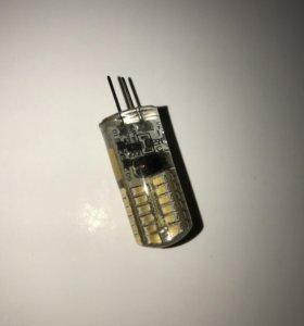 Светодиодная LED лампа G4 (2w) 12v. 4000К.