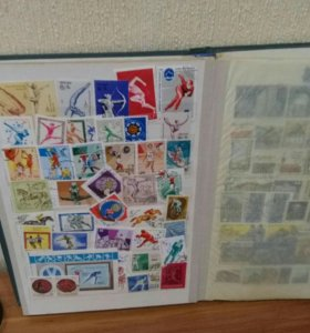 Наборы марок 400 шт