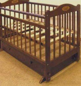 Детская кроватка наша мама